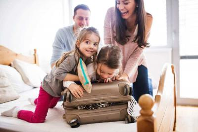 How to Handle Air Travel with Kids